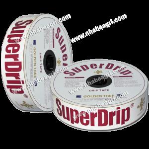 Dây tưới nhỏ giọt SuperDrip 16mm, k/c lỗ 50cm, dày 0.63mm, 600m/cuộn