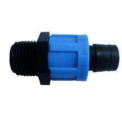 Nối ống 17mm ra ren ngoài 21mm